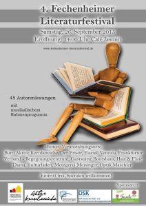 Literaturfestival Plakat