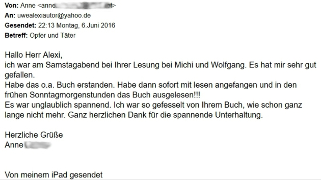 Anne Koehler zu OuT